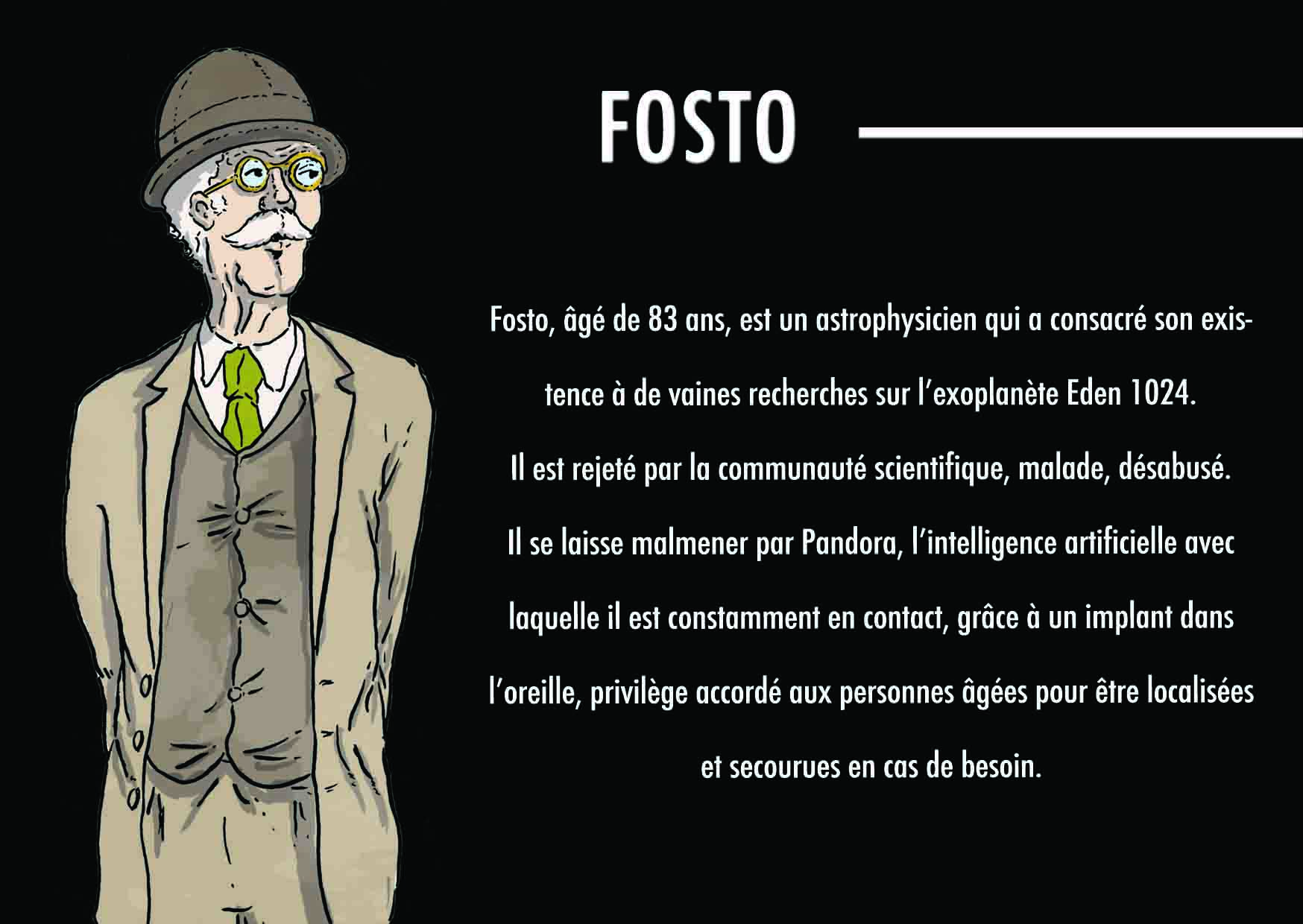 visuel personnage faust bd interactive science fiction